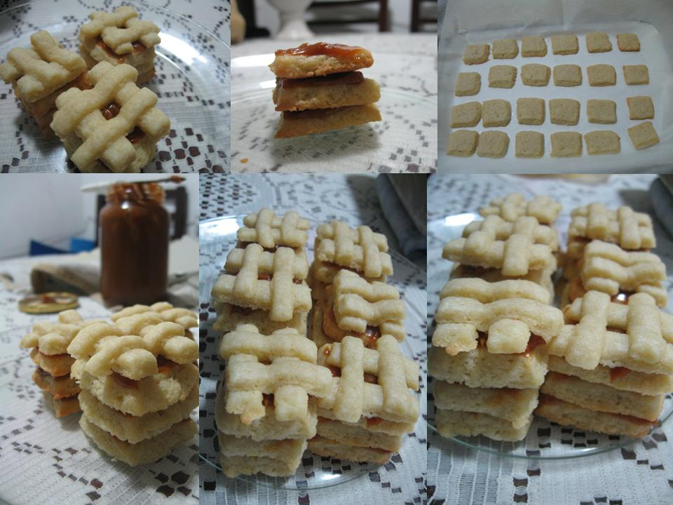 step by step cookies cut