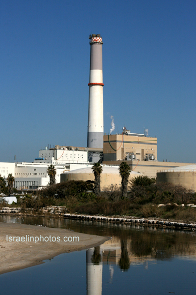 Tel Aviv, Reading Power Plant